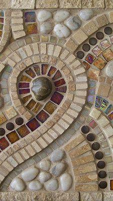 Copper Cat Studio #mosaic murals #mosaicart #mosaicdesign