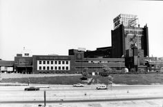 Stroh brewery before it was imploded but i got to take the tour
