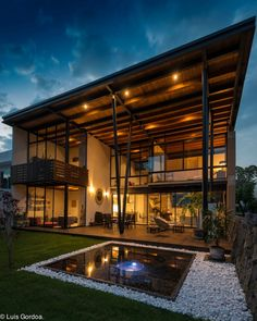 45 luxury modern house exterior design ideas – My Ideas Architecture Durable, Residential Architecture, Architecture Design, Modern Architecture House, Dream Home Design, Modern House Design, Luxury Homes Dream Houses, Dream House Exterior, House Goals