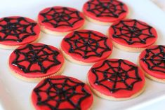 Superhero birthday party cookies!  See more party planning ideas at CatchMyParty.com!