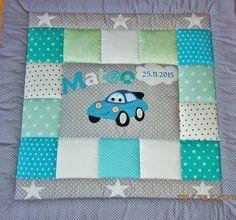 Babydecken -   Krabbeldecke,Kinderdecke,Patchworkdecke - ein Designerstück von LanaBW bei DaWanda