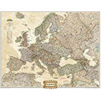 Europe Executive [Tubed] (National Geographic Reference Map) -- Find out more about the great product at the image link.