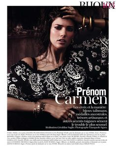Vogue Paris - Prenom CARMEN