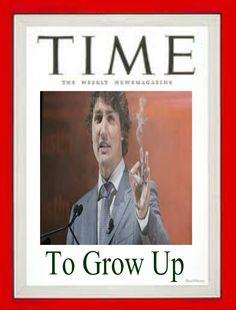 Justin Trudeau on Time Magazine #canpoli