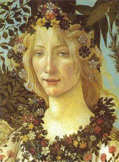 Botticelli, Spring (detail), 1478
