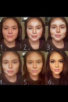 ¿Como contornear la cara?