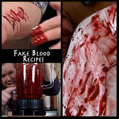 The Goriest, Tastiest, Realistic Fake Blood Recipes   Steve Spangler Science