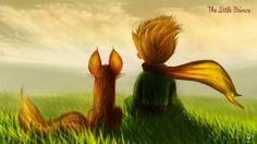 ArtStation - The Little Prince, Lim kuk Le Petit Prince Film, Fox Spirit, Literary Characters, Watch Wallpaper, Vampire, The Little Prince, Color Studies, Cartoon Pics, Colorful Wallpaper