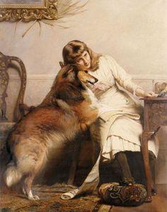 Animalistika-Charles-Burton-Barber.-Kartina-shestaya