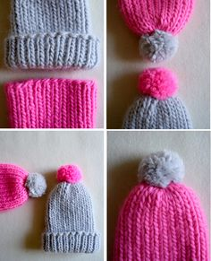 Molly's Sketchbook: Super Simple Super Soft Merino BabyHat - The Purl Bee - Knitting Crochet Sewing Embroidery Crafts Patterns and Ideas!