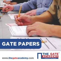 It is a good idea to practise by solving GATE question papers of the previous years. Here you can download the GATE paper according to your stream. This will help you get acquainted with the GATE pattern.