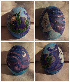 First day of spring!  Wiccan Holiday of Ostara!  Aren't these eggs gorgeous?