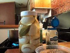 Make your own pickled eggs using fresh from the farm eggs! You will need to use eggs that are a few weeks old for easier peeling. Hard boil the eggs. Make a solution of 1 1/2 cups vinegar and 1/2 cup water add your spices and let boil for 5 minutes. Pour over your peeled eggs, cover and refridgerate for up to 4 months.  Get creative with your sp...