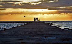 Pleasant evening walk - Location: Tallinn, Pirita beach, Estonia  What a beautiful evening!