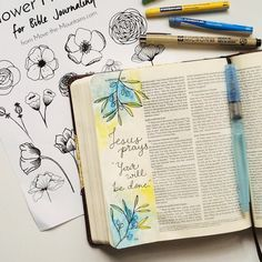 Are you excited about Bible journaling but don't feel like an artist? Let us lend a hand to your artistic process with this Bible journaling traceable!