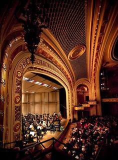 Chattanooga Symphony performance at the historic Tivoli Theater by Lawson Whitaker.  http://www.lawsonwhitakerphoto.com/