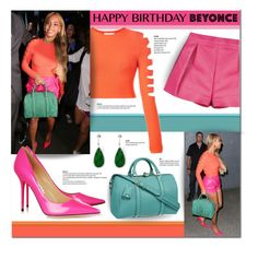 """""""Happy Birthday, Beyonce!"""" by laurenjane47 ❤ liked on Polyvore featuring Dsquared2, Jimmy Choo, Karolin and happybirthdaybeyonce"""