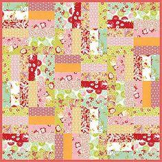 Jelly Roll Jam - free pattern