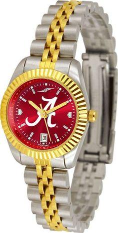 NCAA Alabama Crimson Tide Ladies' Executive AnoChrome Watch