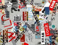 """Capillaries"" grafica di TheColorSoup  #pattern #graphics #design #textile"