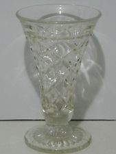 Lge. Antique CROWN CRYSTAL Depression Pressed Glass ex.cond...in Perth Pressed Glass, Fountain Pen, Perth, Depression, Glass Vase, Crown, Crystals, Antiques, Ebay