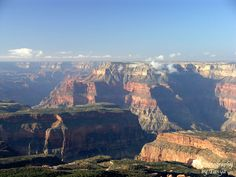 The view from Crazy Jug Point, North Rim Grand Canyon