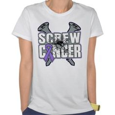 Screw Hodgkins Lymphoma Cancer Shirts from cancerapparelgifts.com