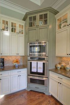 Newest Cabinet Design Ideas For Kitchen Cabinets are a great way to store things and keep them out of the way. They are sealed from larger … - Awesome Newest Cabinet Design Ideas For Kitchen. Diy Kitchen Remodel, Kitchen Redo, Home Decor Kitchen, New Kitchen, Home Kitchens, Kitchen Ideas, Kitchen Inspiration, 10x10 Kitchen, Kitchen Modern