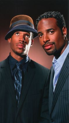 Every time I see Them I See White Chicks, lol ~ Shawn and Marlon Wayans...