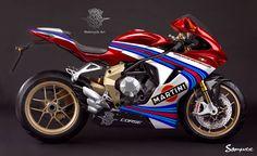 MV Augusta Concept Graphic by Samuxx Design