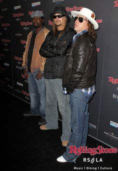 Kid Rock at The Official Rolling Stone Magazine 2010 @AMAs After Party at #RollingStoneLA