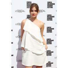white dress | Tumblr ❤ liked on Polyvore