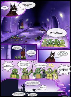TMNT - Never give up hope (page by Myrling on DeviantArt Ninga Turtles, Ninja Turtles Art, Teenage Mutant Ninja Turtles, Tmnt Comics, Funny Comics, Turtle Tots, Character Bio, Tmnt 2012, Animation
