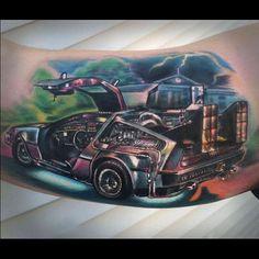 Back To The Future #backtothefuture #tattoo #johnnysmith #johnnysmithart #offthemaptattoo #grantspass #oregon #art