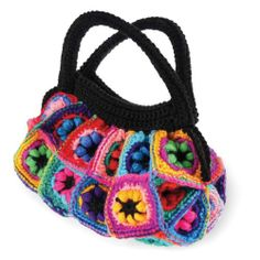 Cosy Crochet Knits by donnashuggy Crochet Granny, Knit Crochet, Flower Granny Square, Diy Crafts Crochet, Color Crafts, Craft Gifts, Crochet Hooks, Crochet Necklace, Handbags