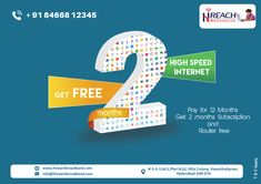 One of the leading internet service provider India with the high speed internet at the affordable cost.Best internet plans in Hyderabad Internet Plans, Class B, Communication, Entertainment, Building, Buildings, Entertaining