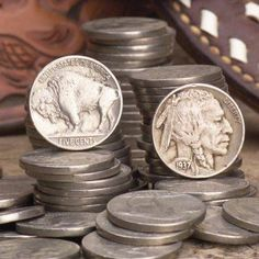 10 random buffalo nickel or indian head nickel 1913 to 1938