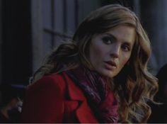 "Stana Katic as Kate Beckett in Castle Season 5 Episode 15 ""Target"""