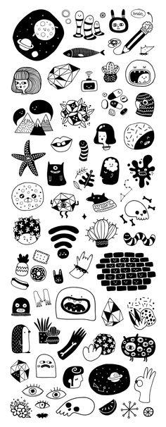 Designs from my sketchbook- Alejandra Morenilla