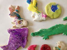 Bakable Salt Dough- Make Ornaments, Magnets, Jewelry.