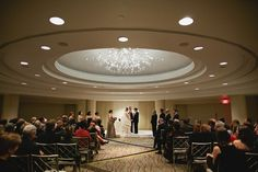 westin georgetown wedding ceremony 550x366 DC Wedding Venue Tour: The Westin Georgetown