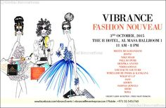 Get fresh-off the runway festive must-haves at the season of Vibrance. 21 September Dubai, UAE: The wait is over for Dubai's fashionistas as Vibrance Fashion Dubai Events, H Hotel, Press Release, City Life, Festive, Seasons, Fashion, Moda, Fashion Styles