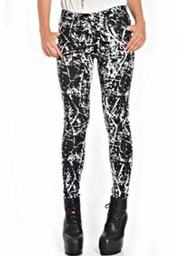 Jordan Jean- Foil   Ladies Clothing Online   Birdmotel