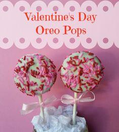 Valentines day Oreo Pops