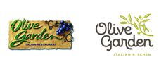Nicely done Olive Garden. Reviewed: New Logo for Olive Garden