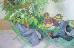 """Harmonia & Prosperidade: Fale apenas com uma boa finalidade""""...Um dos sinais distintivos mais claros da vida moral é o discurso correto. O aperfeiçoamento de nosso discurso é um dos princípios básicos de um programa espiritual autêntico..."""". Texto de Epicteto  com interpretação de Sharon Lebell. Pintura de Carl  Larsson (1853-1919). No Blog: harmoniaeprosperidade.blogspot.com. Visite!"""