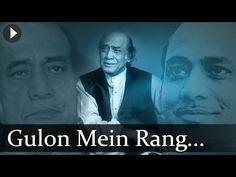 GULON MEIN RANG BHARE - MEHDI HASAN - YouTube