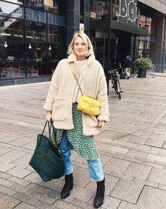Ganni street style   Josefin Dahlberg   Dalton Crepe Dress