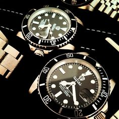Rolex watches upgraded by Royal Custom Timepieces