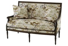 "Oakridge 56"" Settee, Brown, on OneKingsLane.com 